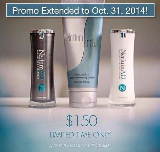 Nerium AD age defying night and day cream Nerium Firm