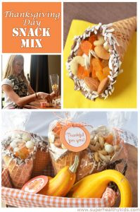 Thanksgiving Day Cornucopia Snack Mix | Healthy Ideas for Kids