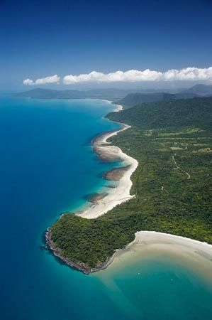 Cape Tribulation, Daintree National Park (World Heritage Area), North Queensland, Australia