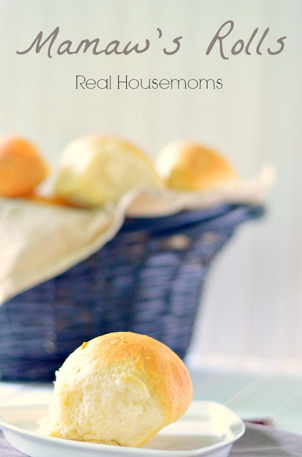Mamaw's Rolls | previous pinner said-- These rolls are beyond amazing-according to my son!