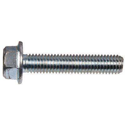 The Hillman Group 10mm-1.5 Zinc-Plated Hex-Head Metric (MM) Serrated Flange Bolts