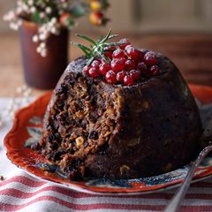 Classic Christmas pudding with brandy butter - Sainsbury's Magazine