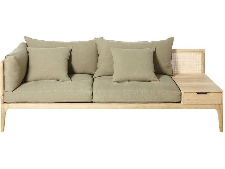 3 Sitzer Sofa Kakifarben Delphes Sofa Furniture Home Decor