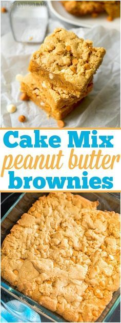 You have got to try these cake mix peanut butter c…