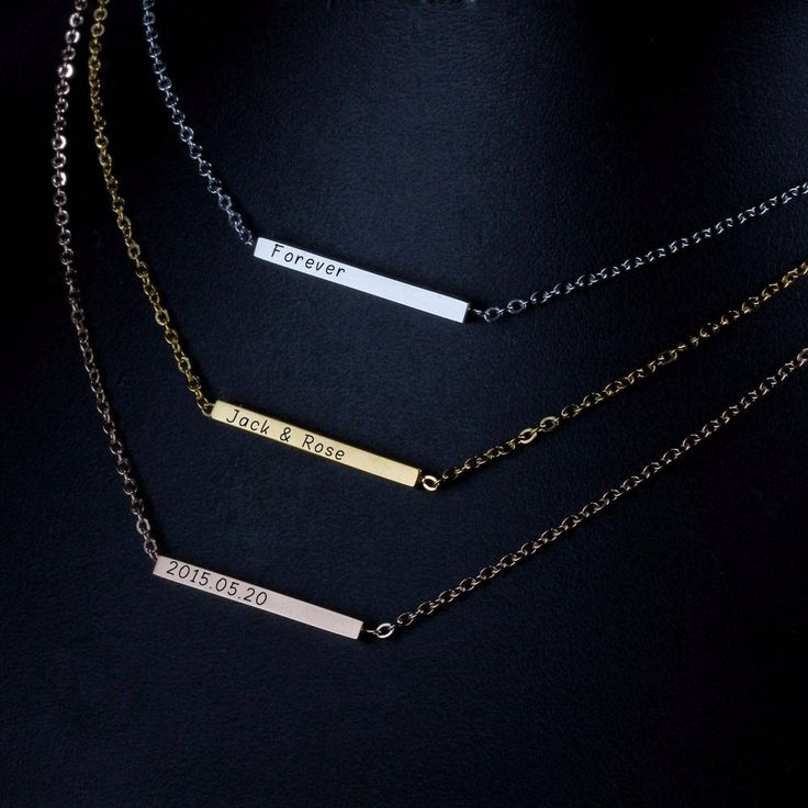 13 best Name Necklace images on Pinterest | Name necklace ...