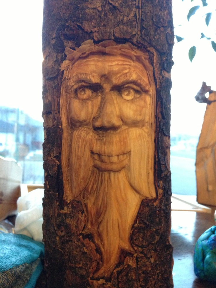Wood spirit #3.