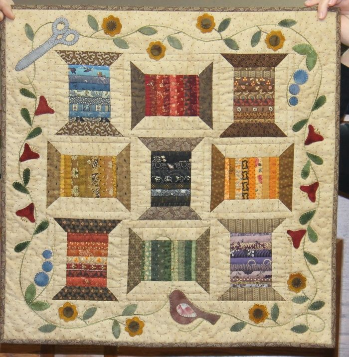 basket quilts | Spools | Love Laundry Basket Quilts