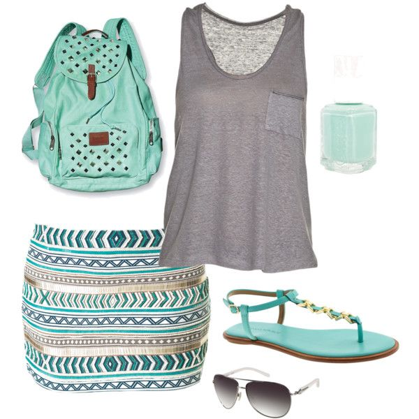 fashion Cute summer outfit for ladies