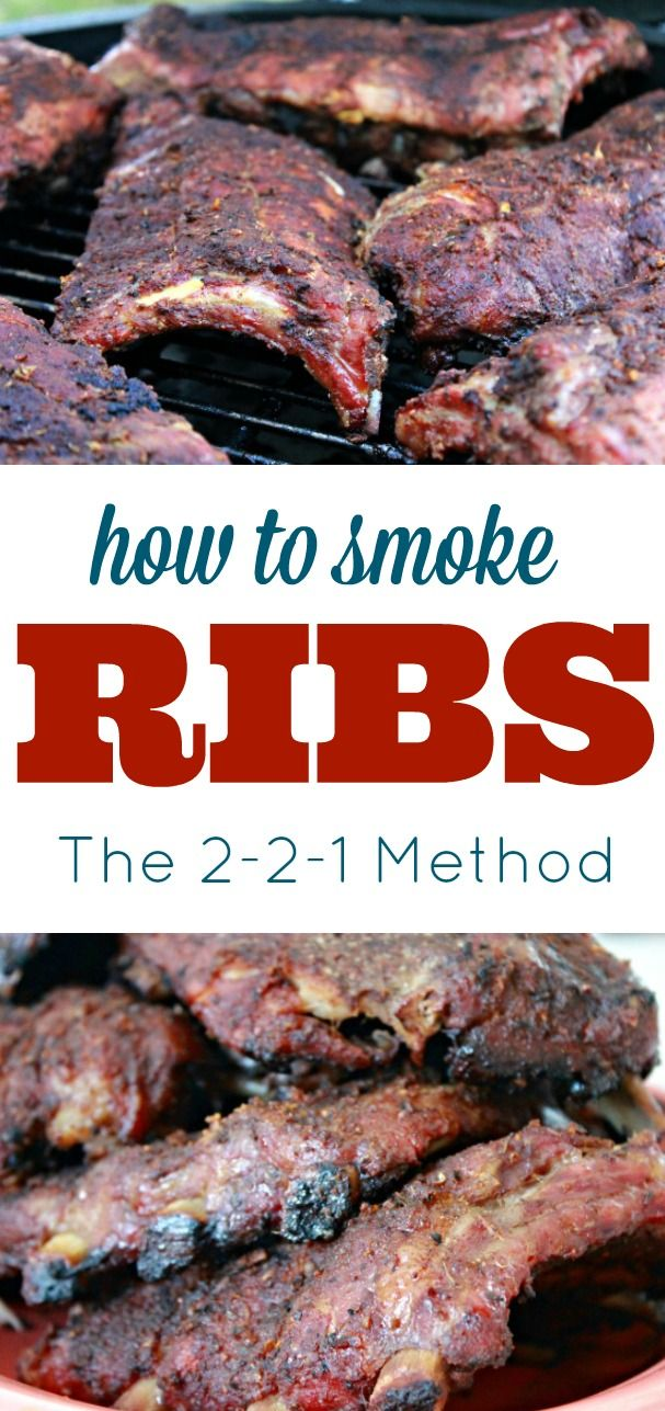 How To Smoke Ribs Using the 2-2-1 Method...Super Easy Step By Step