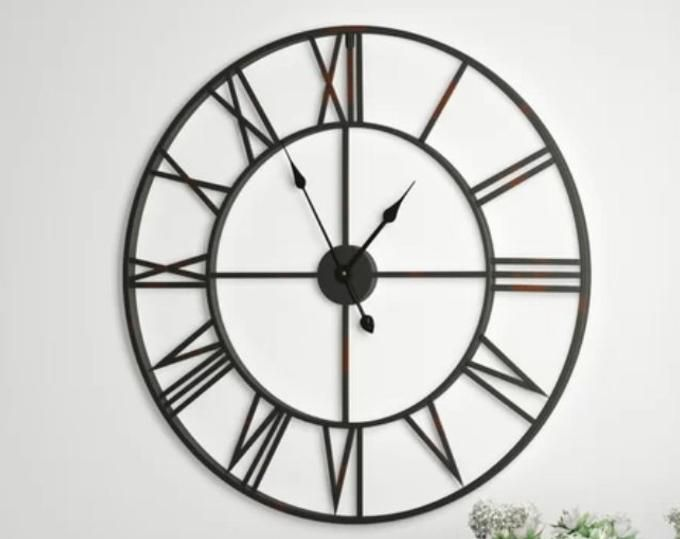 Bicycle Wall Clock Industrial Clock Bike Clock Unique Wall Etsy In 2020 Wood Wall Clock Large Wall Clock Wall Clock