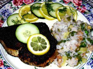 Blackened Swordfish Steaks