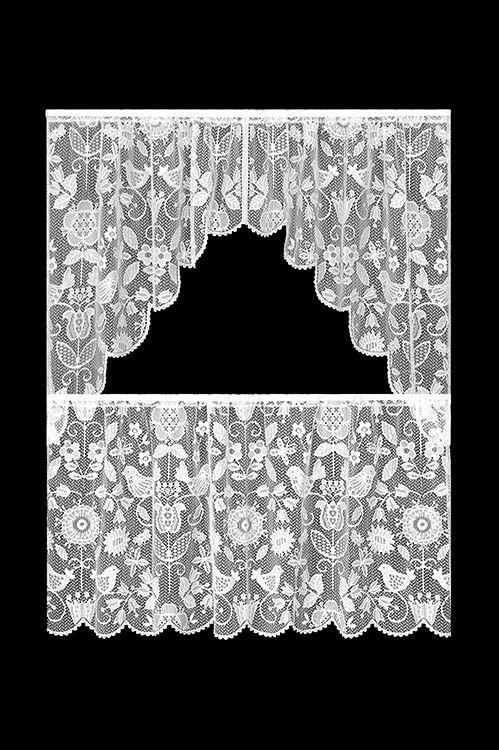 Rhapsody 30″ Tier 8505W-6030 – RETIRED | Lace Curtain Store
