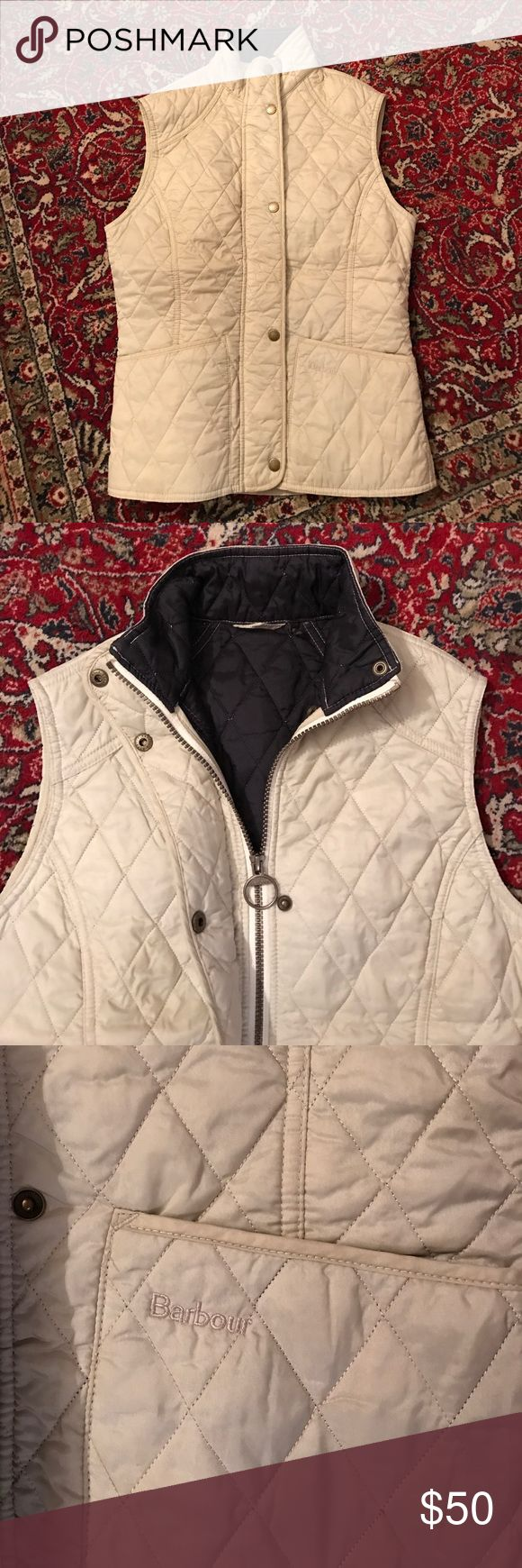 Barbour Vest Great condition, one small mark on back but hardly noticeable (see photo). Barbour Other