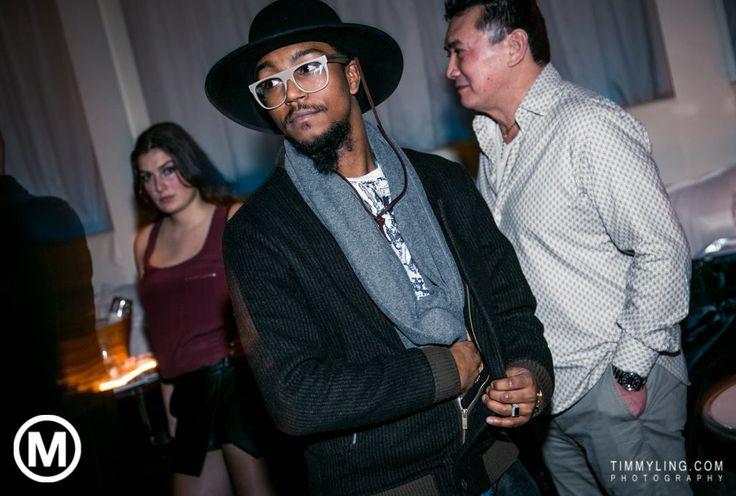 #Nightout #Brixton #hat #jacket #Retrosuperfuture #Glasses