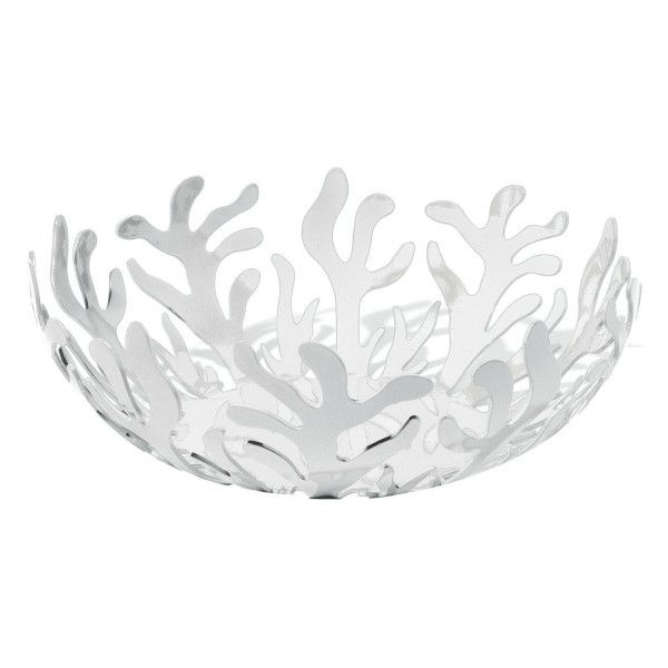 Alessi Mediterraneo Bowl (£50) ❤ liked on Polyvore featuring home, kitchen & dining, serveware, white serveware, alessi fruit bowl, alessi bowl, round bowl and alessi