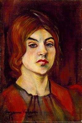 Suzanne Valadon, Self-portrait, 1898