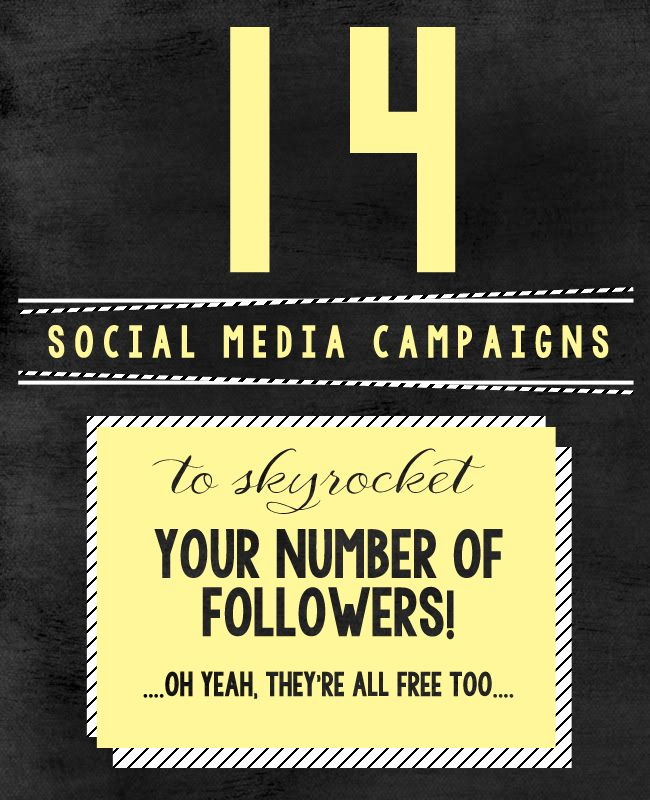 14 Social Media Campaigns that Won't Cost Your Company A Dime in Advertising. Yes, Free.