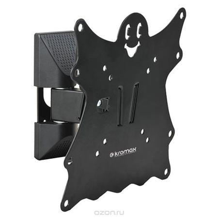 Kromax Casper-202, Black настенный кронштейн для ТВ  — 1050 руб. —  Кронштейн Kromax Casper-202 идеально подходит для всех LED/LCD телевизоров с диагональю экрана от 15 до 40 дюймов (38-102 см) и весом до 30 кг. Надежная стальная конструкция позволяет разместить телевизор близко к стене на расстоянии 57-110 мм. Крепежные отверстия соответствуют стандартам VESA 75 x 75 мм - 200 x 200 мм. Предусмотрена удобная и простая установка, благодаря встроенному водяному уровню и съемной монтажной…