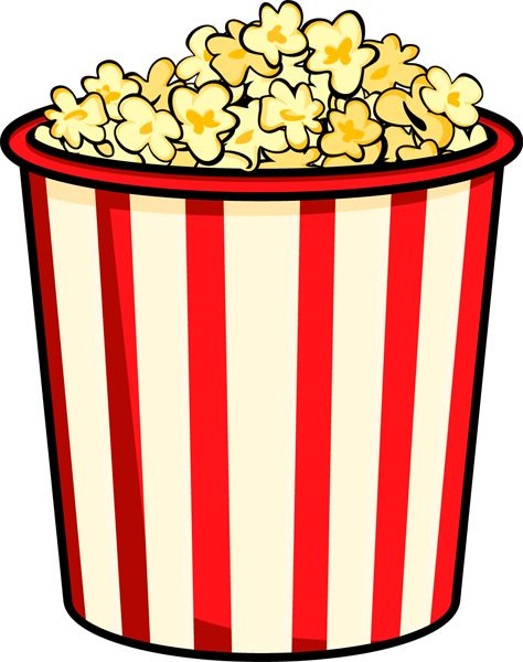 102 best popcorn images images on pinterest clip art rh pinterest com clipart of popcorn kernel clipart popcorn black and white
