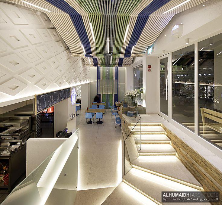 Wood Elevation Burger : Best interior design kuwait city images on pinterest