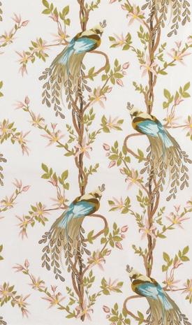 Dining Room:  Nina Campbell - Paradiso wallpaper