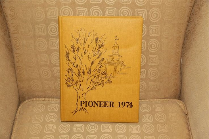"""Pompton Lakes New Jersey High School Yearbook Class of 1974 """"Pioneer"""""""