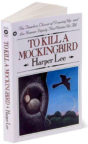 Hands-down best book ever. Probably the only book I've read enough times I've lost track. Harper Lee.