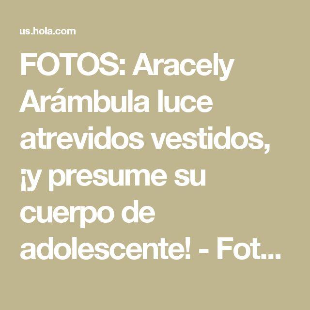 FOTOS: Aracely Arámbula luce atrevidos vestidos, ¡y presume su cuerpo de adolescente! - Foto 1