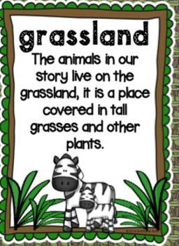 Animal Babies in Grasslands -Scott Foresman Reading Street Kindergarten