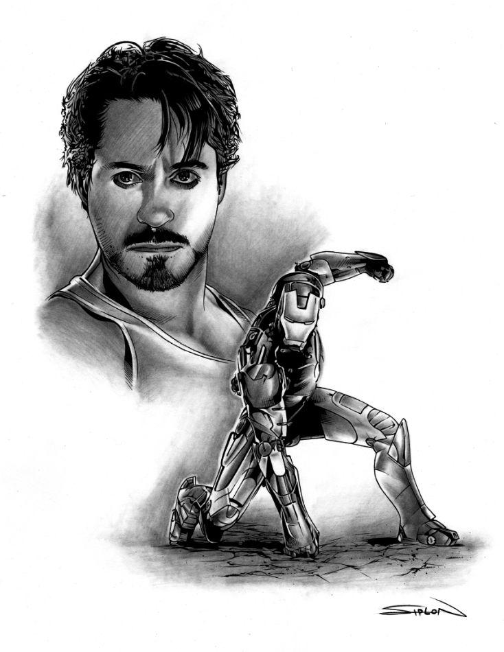 Iron Man Movie Character Study by *RandySiplon on deviantART