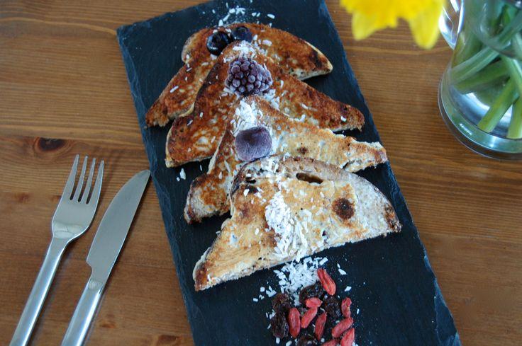 Healthy French Toast (aka Eggy Bread!)