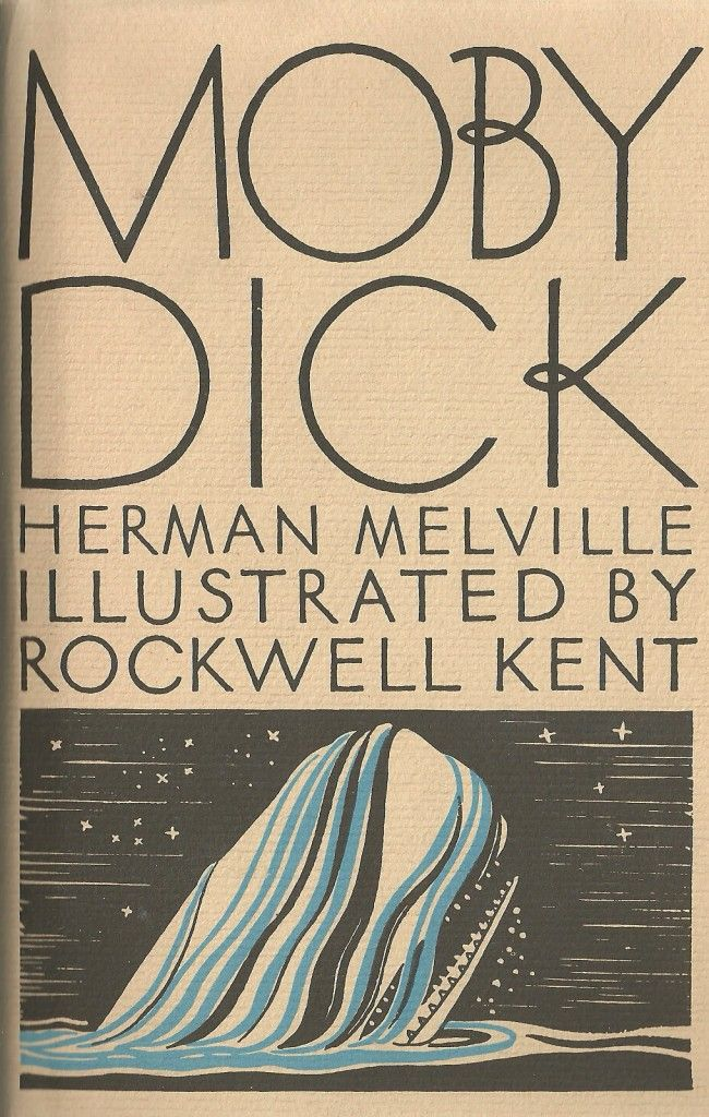 Moby Dick - illustrated by Rockwell Kent