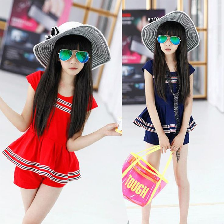 $21.80 (Buy here: https://alitems.com/g/1e8d114494ebda23ff8b16525dc3e8/?i=5&ulp=https%3A%2F%2Fwww.aliexpress.com%2Fitem%2F6Y-12Y-2016-Children-Clothing-Sets-Girls-Summer-Fashion-Short-Tee-Top-Pant-2pcs-Clothes-Outfits%2F32616372604.html ) 6Y-12Y 2016 Children Clothing Sets Girls Summer Fashion Short Tee Top+Pant 2pcs Clothes Outfits Kids Cotton Suit for just $21.80