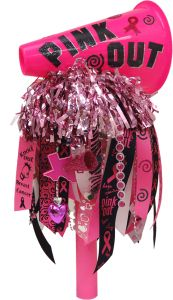 Pink Out Megaphone Spirit Stick                                                                                                                                                                                 More