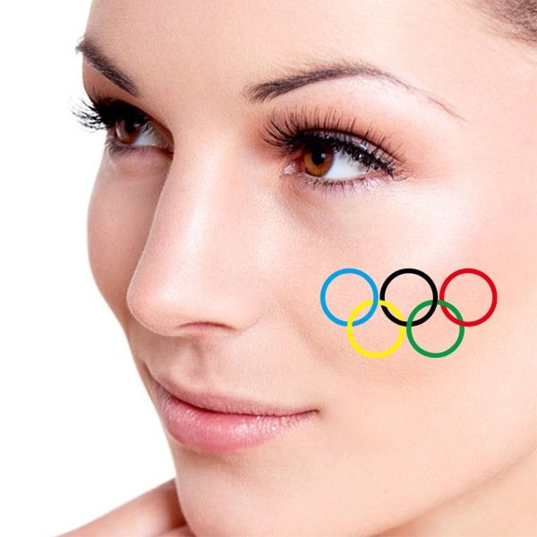 Olympic rings tattoo