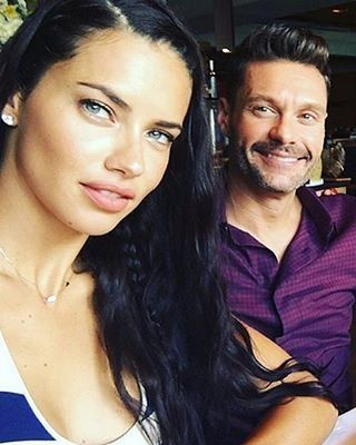 NEW COUPLE ALERT#AdrianaLima #RyanSeacrest#Model Adriana Lima and #TV host Ryan Seacrest 'are #dating after #bonding during #NBC's #Olympic coverage in #Rio'#Couple #inlove #love #date #vs #victoriassecret #vsangel #hot #goals #handsome #fashion #style #celebrity #celebritynews #enews #eonline... - Celebrity Fashion