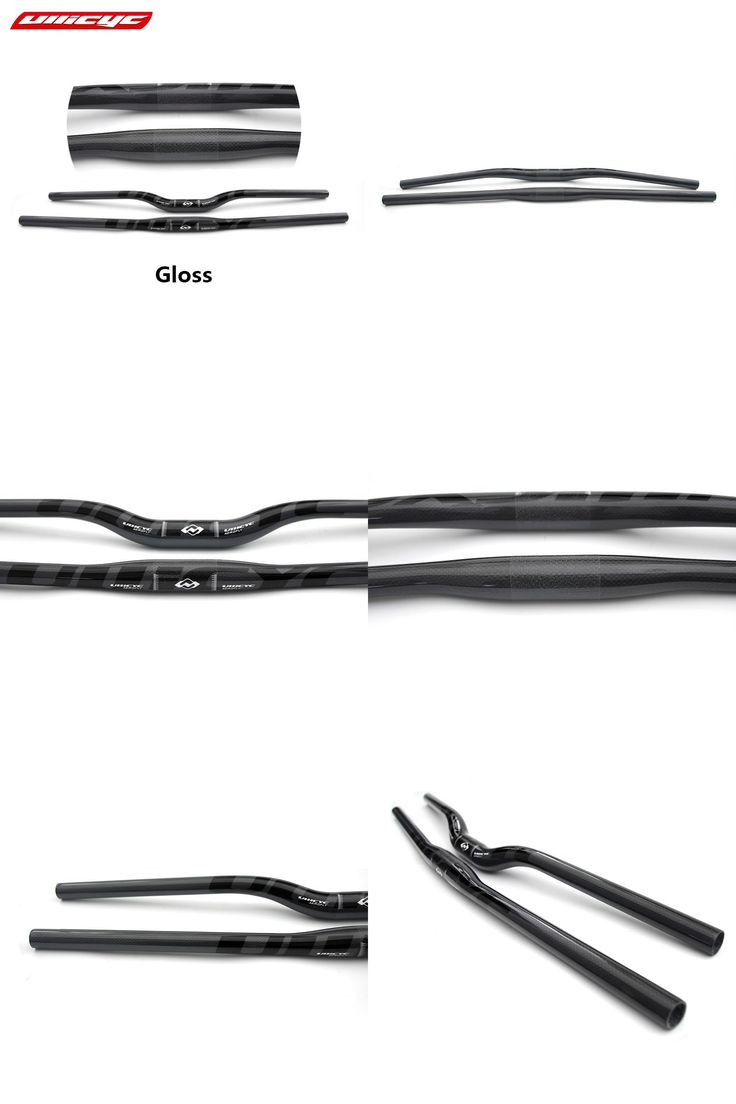 [Visit to Buy] Ullicyc  Mountain bike carbon handlebar swallow shaped carbon bicycle color black MTB parts 31.6*600/620/640/660/680/700/720 mm #Advertisement