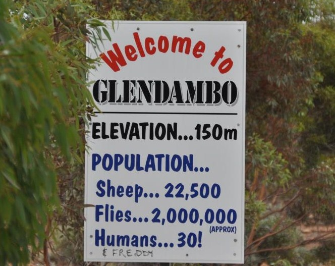 Glendambo is a town in the Australian state of South Australia, on the Stuart Highway, 254 kilometres from Coober Pedy and 592 kilometres from Adelaide South Australia.