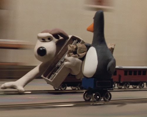 Fast thinking and super co-ordination - just a couple of the things that make Gromit a top dog! Aardman 40 Years. Wallace and Gromit, September 2016
