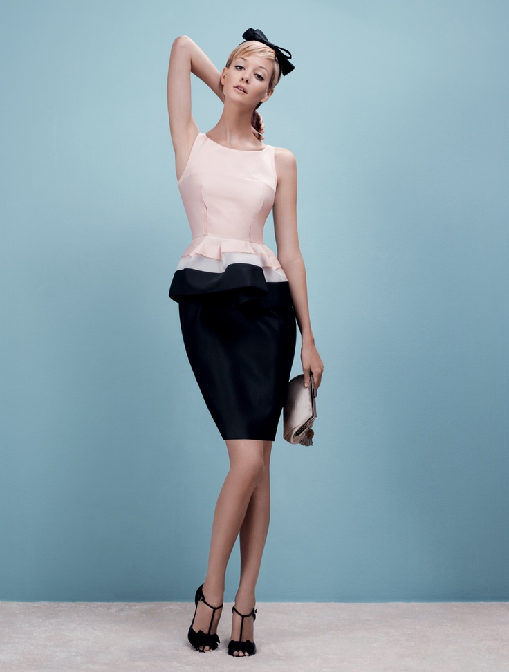 Return of classic line & wartime chic silhouette. Paule Ka S/S 2012.
