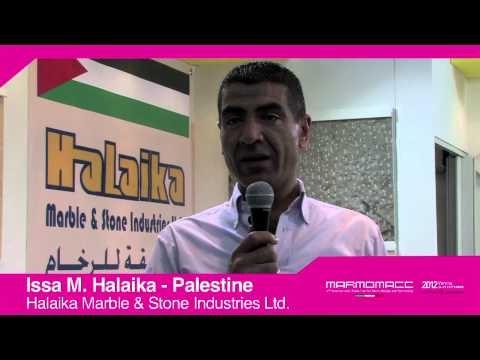 Marmomacc 2012: Issa M. Halaika interview (Halaika Marble & Stone Industries LTd., Palestine)