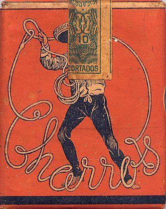 Charros tobacco, Mexico (1940s)