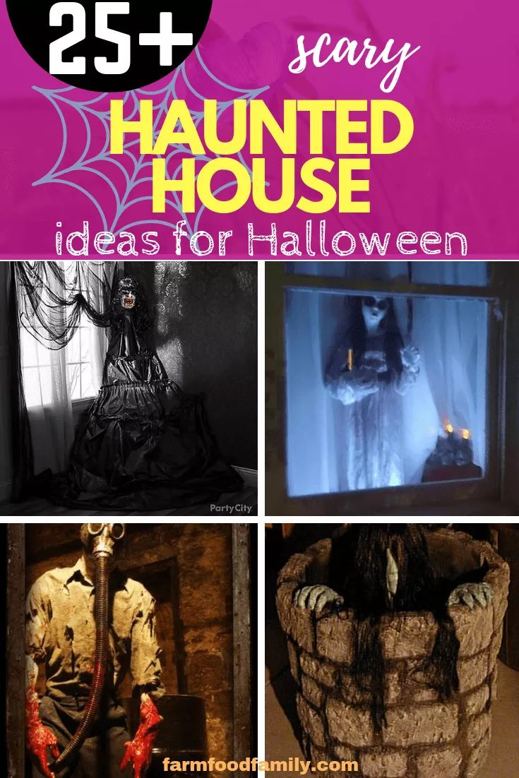 25+ Scary Haunted House Ideas For This Halloween 2020