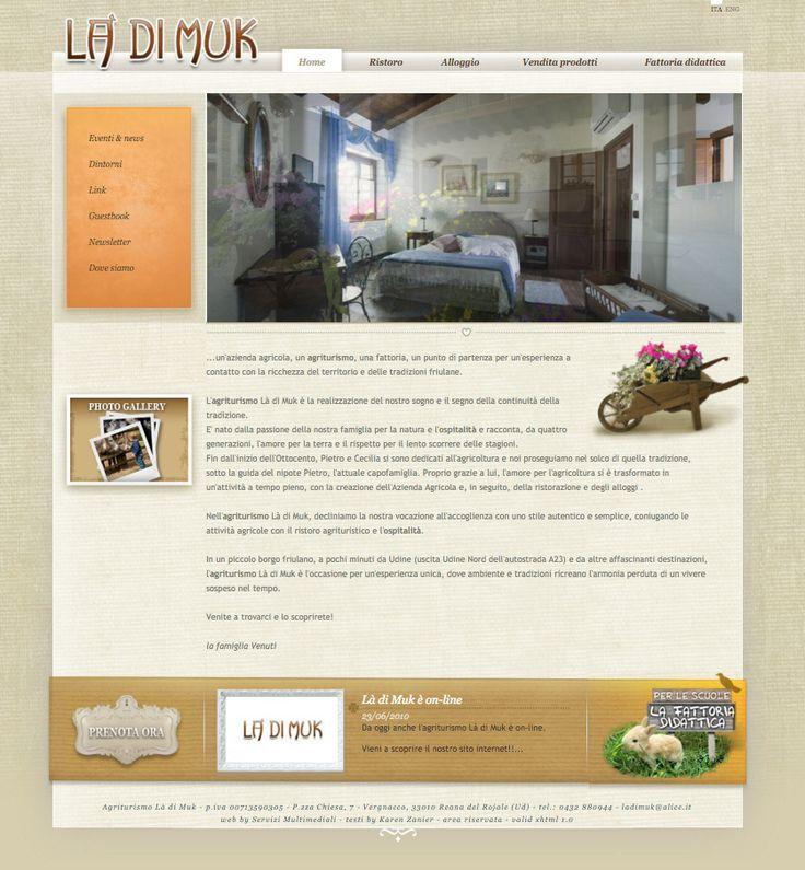 website copy customer: là di muk, farmhouse restaurant