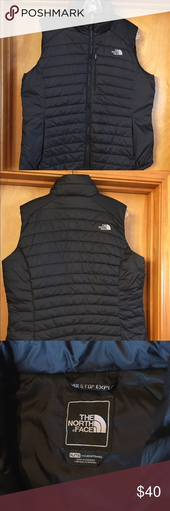 The North Face poly fill vest The North Face vest, nice and cozy but not too puffy. Ladies XL. The North Face Jackets & Coats Vests