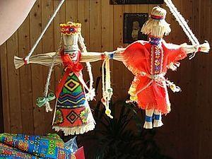 Неразлучники лыковые. Мастерим русский народный свадебный сувенир | Ярмарка Мастеров - ручная работа, handmade