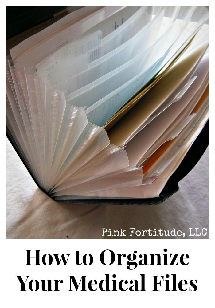 how to organize your medical files by coconutheadsurvivalguide.com