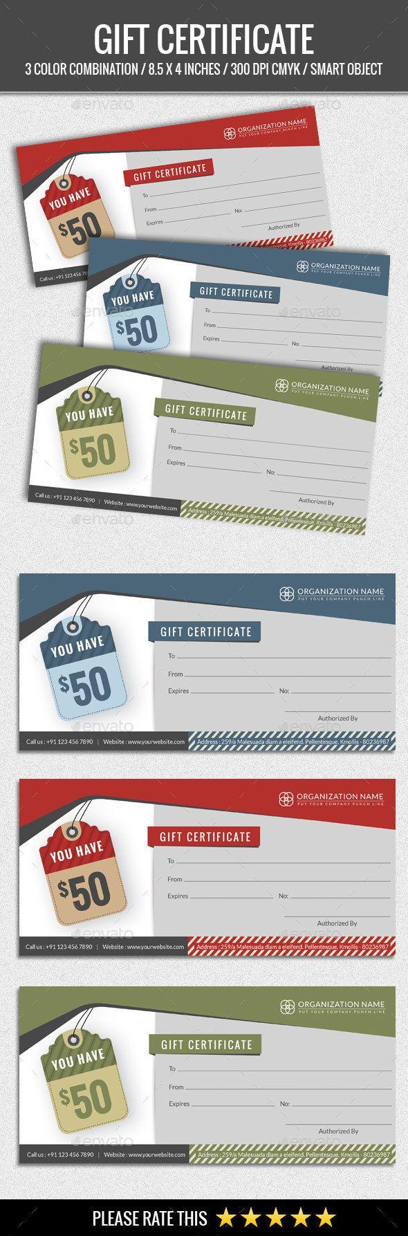 33 best Gift Voucher Templates images on Pinterest | Font logo, Gift ...
