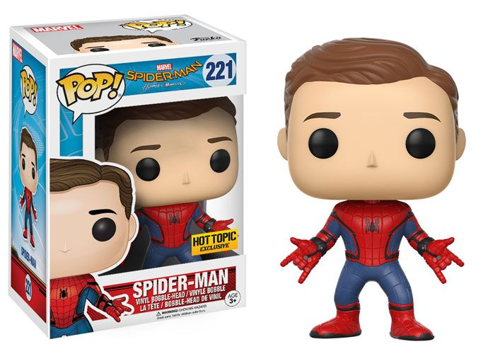 check out all of Funko's Spider-Man Homecoming store exclusives