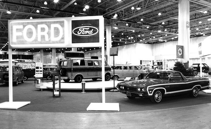 1970 Ford Models Lineup At The Chicago Auto Show Chicago Auto